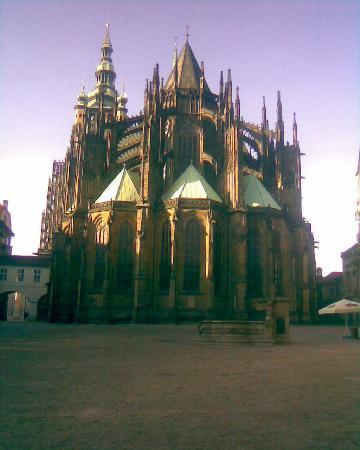 Hotel Meda - Art of Museum Kampa : Cathédrale St guy-Chateau de Prague