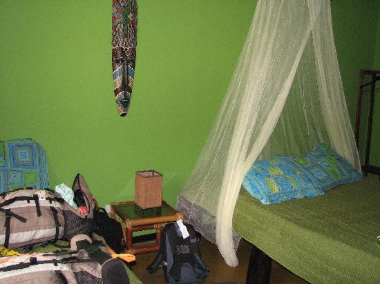 Curubande, Kosta Rika: Green room