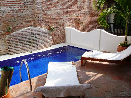 Alfiz Hotel: Plunge pool