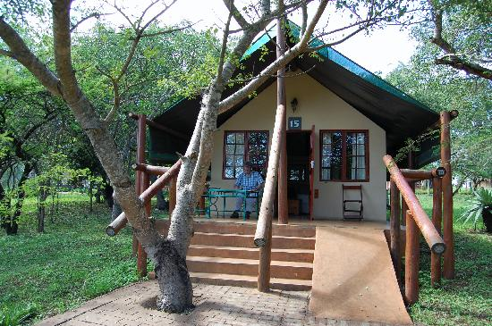 Zulu Nyala Heritage Safari Lodge : Tented camp