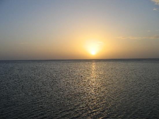 Sunset from Blue Bahia Resort Dock