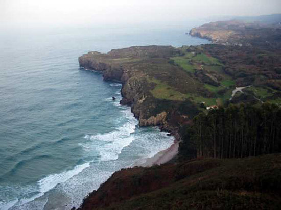 Asturias, España: Playa de Andrin