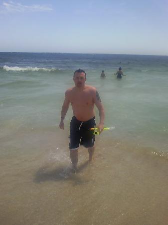 Asterias Beach Hotel: Beautifull beach !