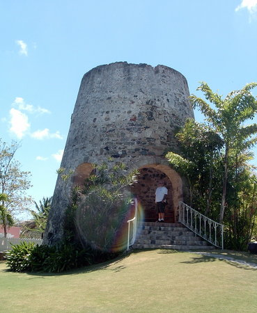 The Buccaneer St Croix: Sugar mill on the hotel grounds