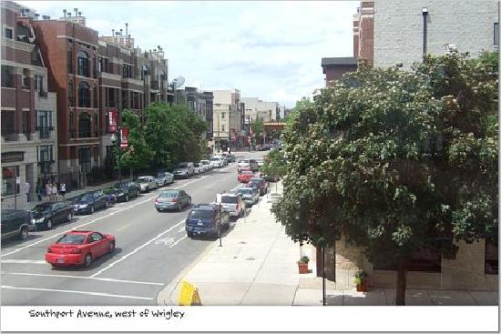 شيكاجو جيست هاوس أون ليكوود أفينيو: Southport Avenue shopping and dining