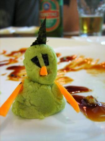 Wasabi man