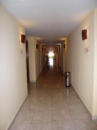 Tapachula, México: Third floor hallway