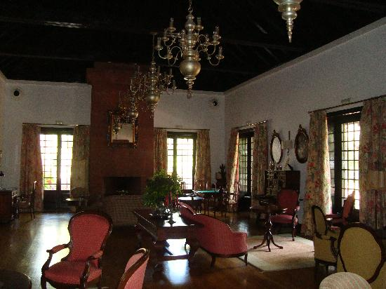 Parador de la Gomera : One of the hotel lounges