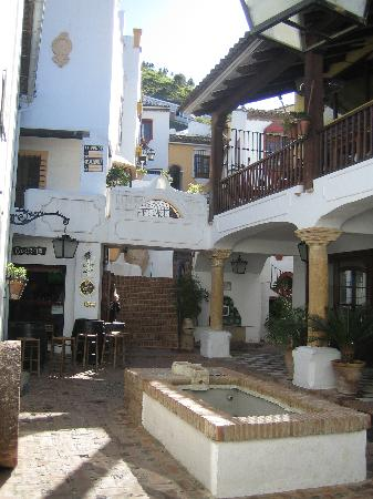 A courtyard in Benahavis