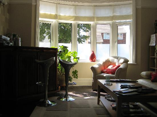 Swanage Haven Boutique B&B: The comfy lounge