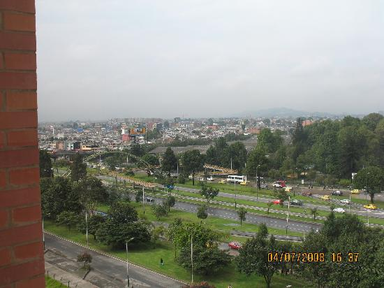 Sheraton Bogota Hotel : From window Calle 26/ El Dorado