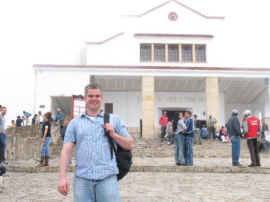Sheraton Bogota Hotel: Monserate church on top of mountain overlooks Bogota
