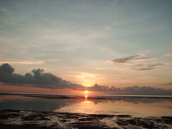 same sunrise, sanur