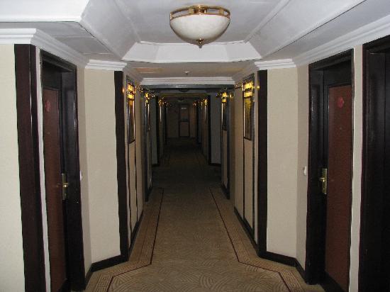 Prime Hotel : Club Floor corridor