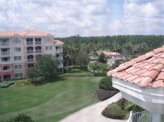 Marriott's Grande Vista: view from room