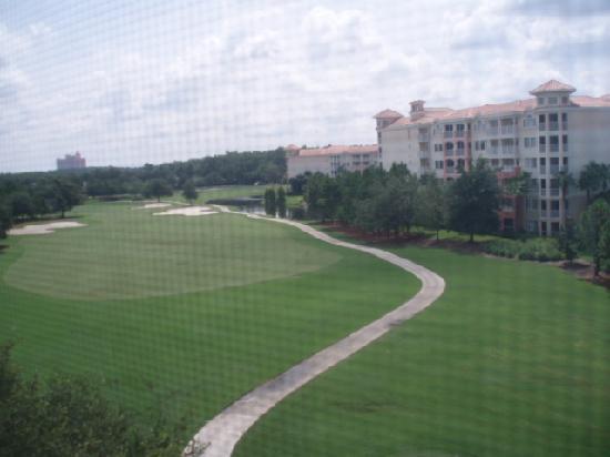 Marriott's Grande Vista: golf course view
