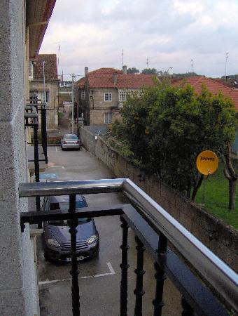Hotel Arce: Blick aus unserem Hotelfenster