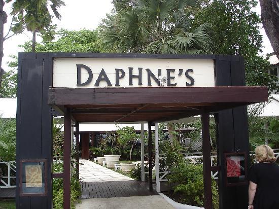 Barbados: Daphne's entrance