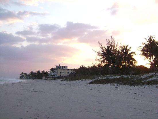 Hotel Acuazul: sun rising