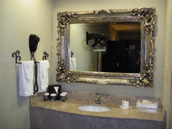 Inn at Mulberry Grove: Vanity Mirror