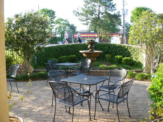 Inn at Mulberry Grove: Patio