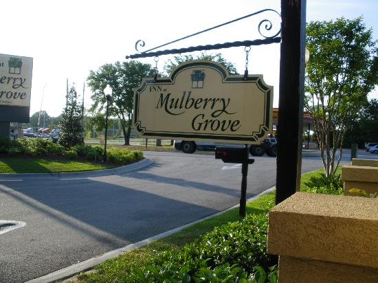 Inn at Mulberry Grove: Sign