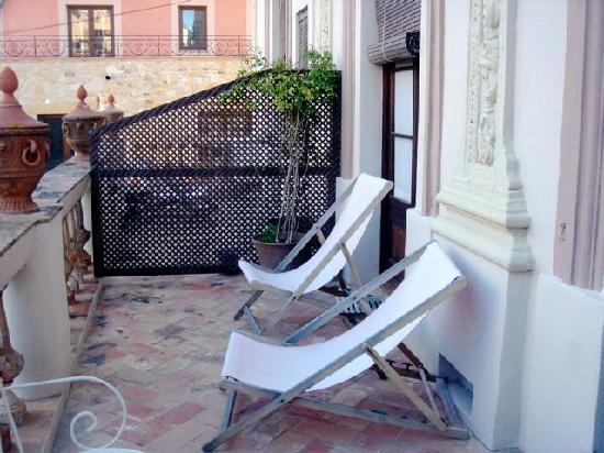 Aiguaclara Hotel: Terasse der Junior Suite Begur