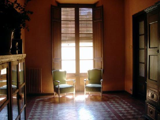 Aiguaclara Hotel: Vorraum zu den Zimmern