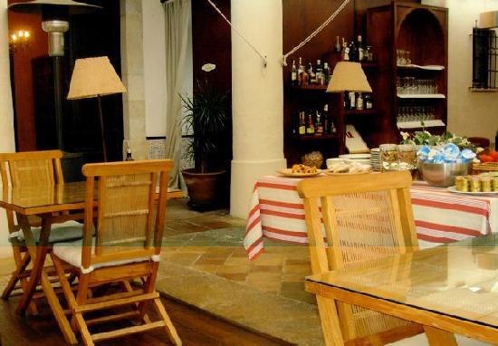 Aiguaclara Hotel: Restaurant und Frühstücksraum