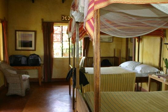 Kibale National Park, ยูกันดา: ndali lodge