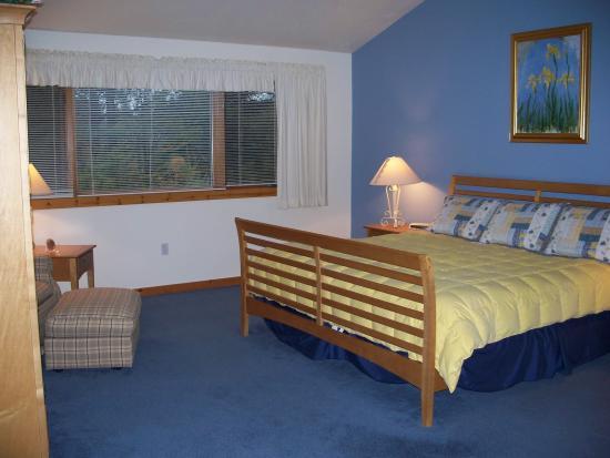 Little Sweden: Master Bedroom with King Bed