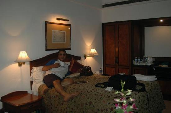 My room at the Ashokas: Perfect after a rough trip to the Himalayas