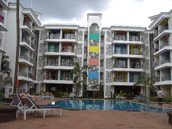 Palmarinha Resort & Suites: main building