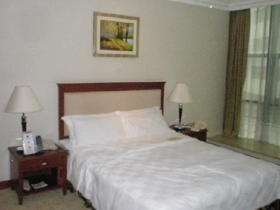 Metropark Hotel Shenzhen : bed