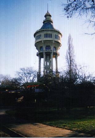 The water tower on margaret island picture of margaret island margitsziget budapest for Margaret island budapest swimming pool