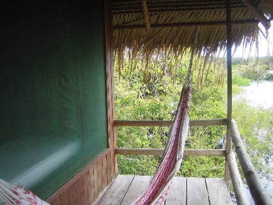 Juma Amazon Lodge: Our Balcony