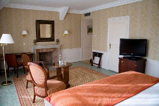 Domaine des Roches : Room