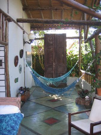 Hotel Pousada Guarana: hammocks at Pousada Guarana