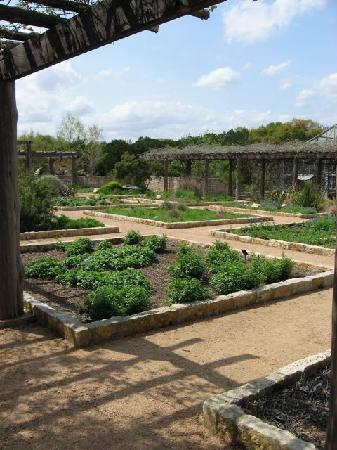 Lady Bird Johnson Wildflower Center: Formal planted gardens