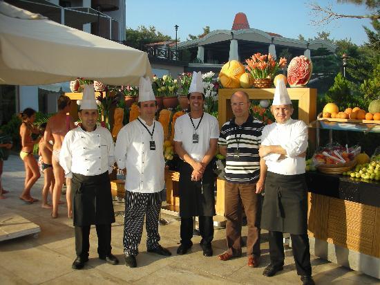 Voyage Sorgun: les chefs de cuisine et le directeur
