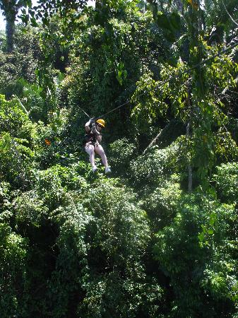 Palma Real Beach Resort & Villas: ziplining