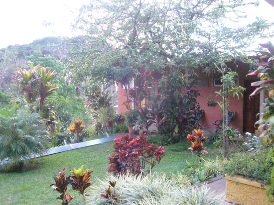 Villa Pacande Bed & Breakfast: View of the rooms on the pretty garden