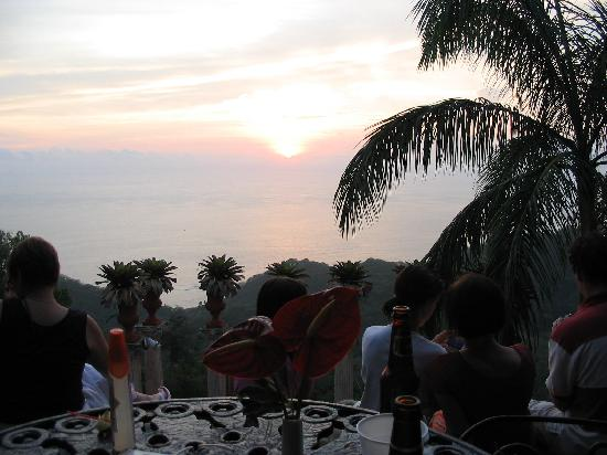 Sunset at the Ampitheatre