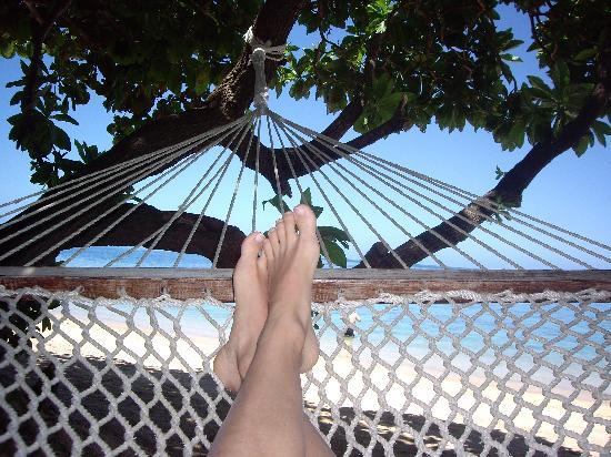 Malolo Island Resort: hammock time