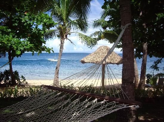 Malolo Island Resort: view from bure