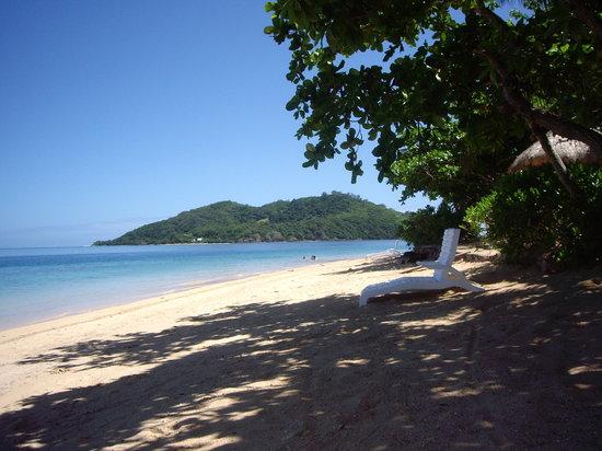 Malolo, Fidschi: beach front