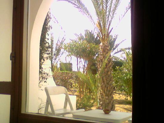 Seabel Rym Beach: vue de la chambre