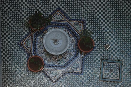 Riad Hamza : Patio interior