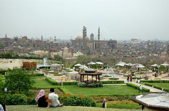 Image result for Al Azhar park