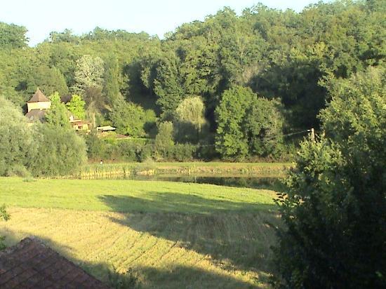 Le Mas de Hiboux : View from garden